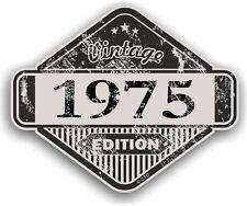 Invecchiato effetto anticato vintage edizione anno 1975 RETRO CAFE RACER MOTO AUTO ADESIVO