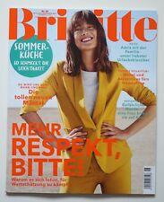 BRIGITTE - 18/2018 Frauen Zeitschrift Mode Magazin - LEICHTE KÜCHE - Accessoires