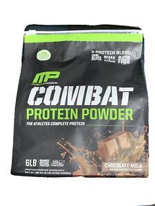 mp combat protein powder 6 Lbs chocolate Milk