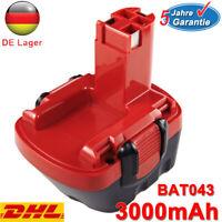 3.0Ah Für Bosch GSR 12V Akku BAT043 BAT045 2607335249 PSR GSR 12VE-2 2607335261