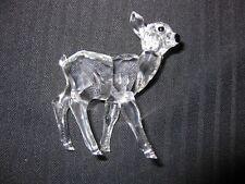 Swarovski Crystal Deer Fawn Standing Figurine MINT w/box