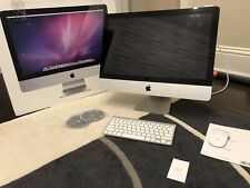 iMac (21.5-inch, Late 2009), 3.06 GHz Intel Core 2 Duo, 12GB RAM 500GB HD, Used