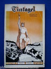 Tintagel North Cornwall Holiday Brochure and official guide    1936
