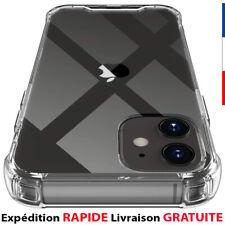 Coque Pour iPhone 12 11 Pro Max XS XR 8+ 7Plus 6 SE 2020 Antichoc Silicone Cover