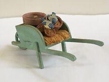 Hallmark Marjolein Bastin Wheelbarrow, Birds, Flower Pots & Candle