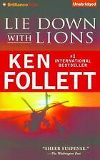 Lie down with Lions by Ken Follett (2015, CD, Unabridged)