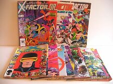 MARVEL'S X-FACTOR COMICS BUNDLE (21 iss) GREAT PRICE FREE GIFT/SHIP