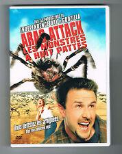 ARAC ATTACK - LES MONSTRES À HUIT PATTES - 2002 - DVD TRÈS BON ÉTAT