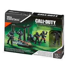 Mega Bloks Construx Call of Duty NIGHT OPS BLACKOUT SQUAD Collector Construction
