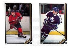 1987-88 O-Pee-Chee Stickers #015-154 Chris Nilan, Steve Thomas