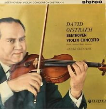 SAX 2315 BLUE SILVER DAVID OISTRAKH RECORD VINYL BEETHOVEN CLUYTENS 33 T RARE