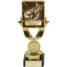 """Football Man of The Match Trophy Award 17.5cm """"FREE ENGRAVING"""""""