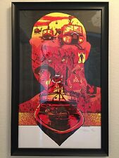 Apocalypse Now Redux Movie Poster Variant 88/170 AP Signed By Tim Doyle Framed