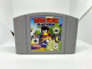 Diddy Kong Racing N64 (Nintendo 64, 1997) Authentic, Cleaned & Working!