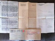 NIKOLA TESLA 1936 BELGRADE DOCUMENTS ELECTRO-TECHNICAL INSTITUTE VERY RARE