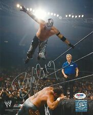 Rey Mysterio Signed WWE 8x10 Photo PSA/DNA COA Mask Picture Autograph AAA Lucha