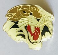 Tiger Pin Badge Wests NRL Footy Style Tigers Team Rare Vintage (E7)