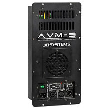 AVM 3 JB Systems Einbau Endstufe Class-D 1300 W RMS Amp amplifier Verstärker NEU