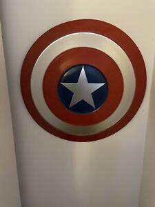 45cm Avengers Captain America Metal Shield Cosplay