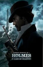 Sherlock Holmes poster (c) A Game Of Shadows movie poster - Robert Downey Jr