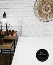 Pair of SensorGel iCool Charcoal Memory Foam Standard Pillows White $240