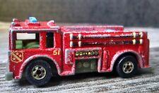 Vintage Hot Wheels Fire Truck Hong Kong 1976