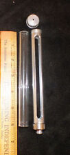"6"" COFFEE URN PYREX TUBING SIGHT-GLASS  with RUBBER SEALS AND HOLDER"