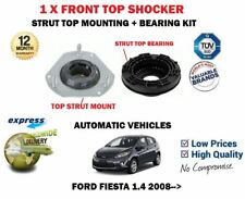 FOR FORD FIESTA 1.4 AUTO 2008->NEW 1X FRONT SHOCKER TOP STRUT MOUNTING + BEARING