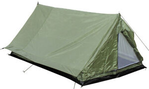 MFH 2-Personenzelt Minipack Outdoor Trekking Two-Man Camping Small Tent