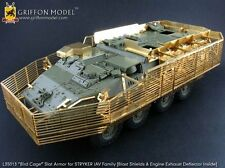 "Griffon L35013 1/35""Bird Cage"" Slat Armor Detailing Set for STRYKER IAV Family"