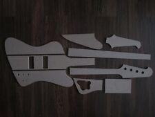 Thunderbird Bass Schablone templates Gitarrenbau