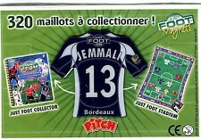 AIMANT FRANCE FOOT 2008 N° 13 (BORDEAUX) JEMMALI