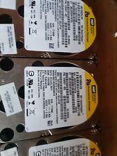 """3x WD SATA Festplatte 160 GB 2,5"""" Enterprise Storage WD1600HLHX VelociRaptor"""