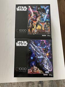 2 New Star Wars Puzzles💥1000 piece
