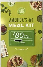 Hello Fresh $80 Gift Card (Email Delivery) expires 10/30/19