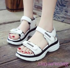 Womens Open Toe Sports Sandals Fashion Sneakers Chic Mid Wedge Slingback Shoes