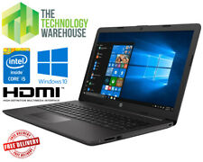 """HP 250 G7 Laptop - 15"""" HD Notebook with i5 Quad Core +SSD & HDD + Windows 10 Pro"""