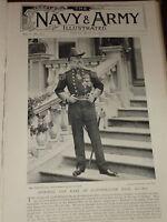1896 Admiral Il Conte Di Clanwilliam Kcb Kcmg Navy