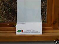 Opal Plastic Polycarbonate Makrolon Sheet 210mm x 297mm Light Diffuser 3mm