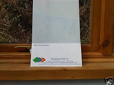 Opal Plastic Polycarbonate Makrolon Sheet 210mm x 297mm Light Diffuser 3mm