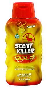 Wildlife Research Scent Killer Gold Body Wash & Shampoo 12oz