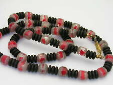 Vintage Unusual Glass beads & Stone Beads Necklace