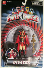 RARE POWER RANGERS DIVATOX PIRATE QUEEN CAPE Action Figure 1997 BANDAI NIP MOVIE