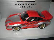 UT 39631 Porsche 911 GT2 Street Racing  Version in rot silber 1:18 OVP Perfekt
