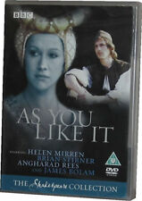 As You Like It BBC Shakespeare Helen Mirren Genuine Full Size UK DVD NEW SEALED