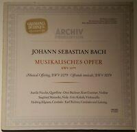 Bach Musikalisches Opfer Aurèle Nicolet Karl Richter ARCHIV PRODUKTION STEREO