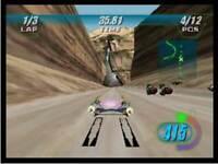 Star Wars Episode I Racer - Nintendo N64 Game