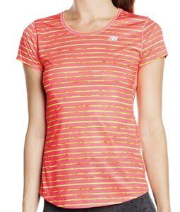 New Balance Women's Accelerate Short Sleeve  T-Shirt SIZE LARGE  FREE UK  PP