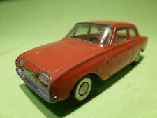TEKNO DENMARK 826 FORD TAUNUS 17M - BROWN/RED 1:43  - GOOD CONDITION