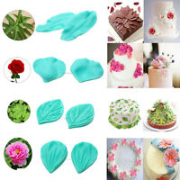Petal Silicone Veiner Chocolate Sugarcraft Cake Decorating Mold Fondant Mould S